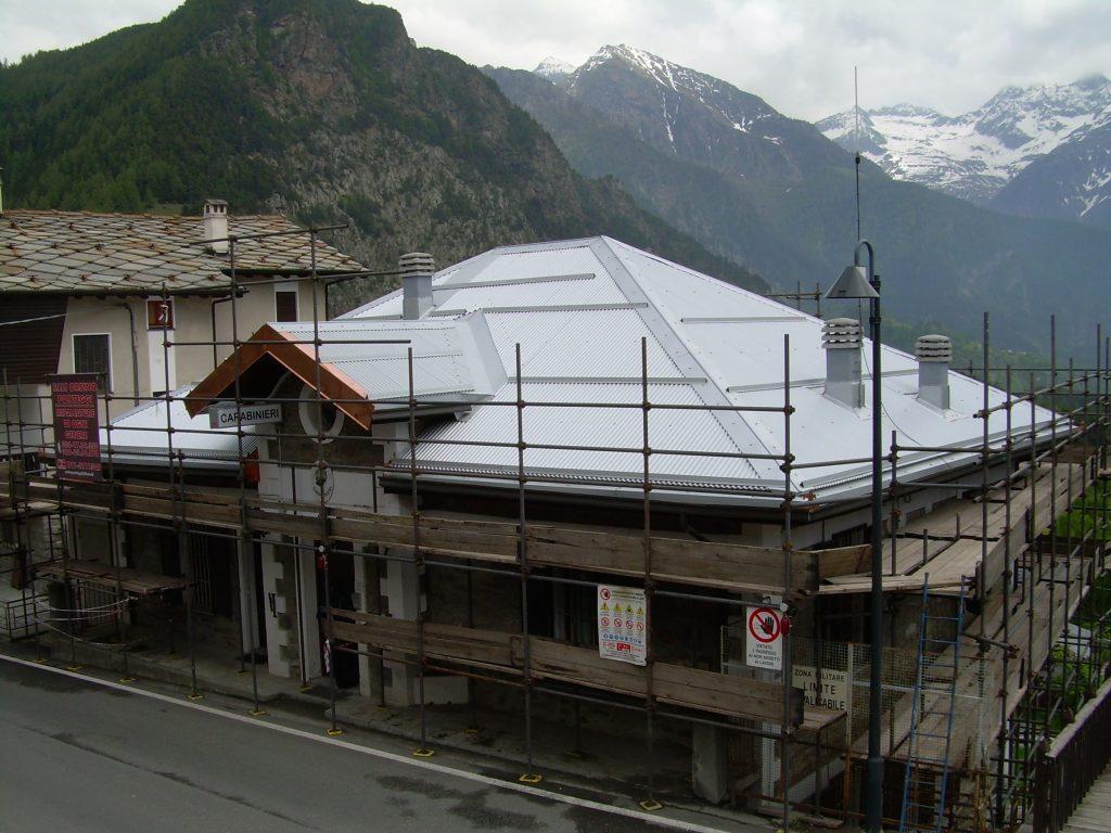 lavori di lattoneria in Valle d'aosta