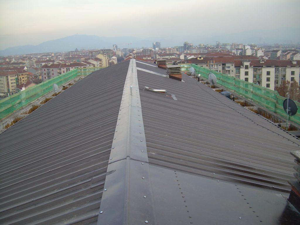 Bonifica da amianto tetto abitazione civile