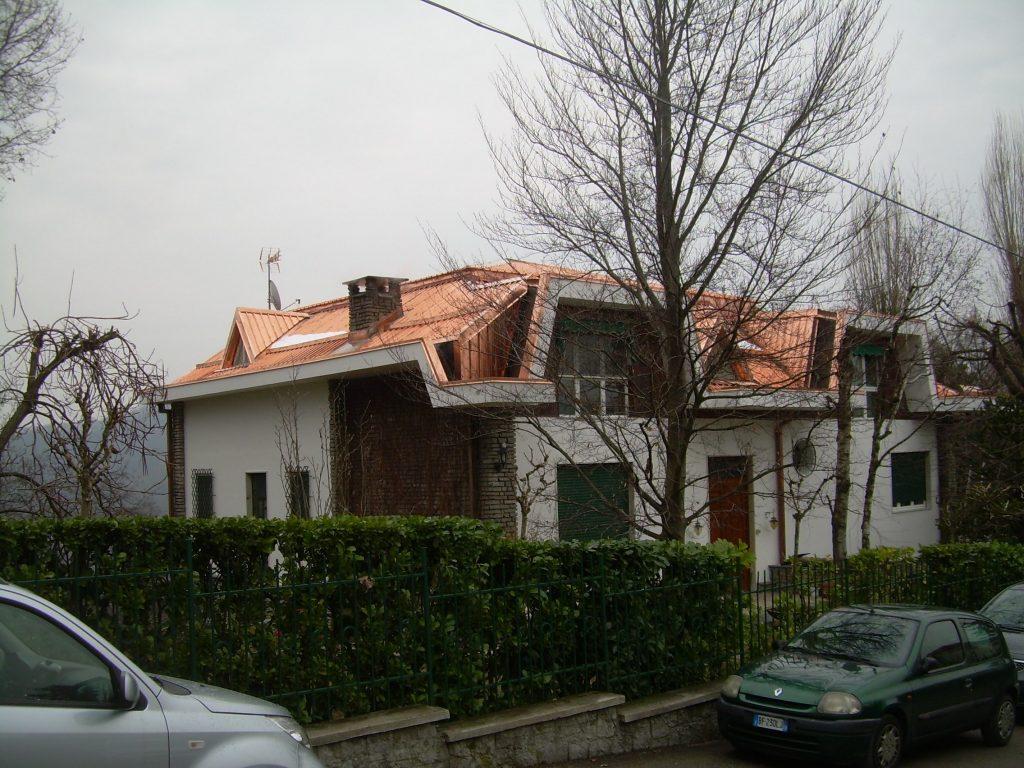 Rifacimento tetto in rame