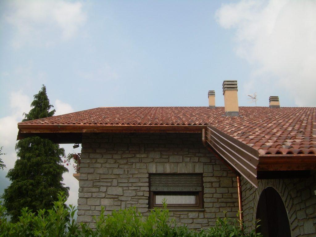 Coperture tetto nuova in tegole