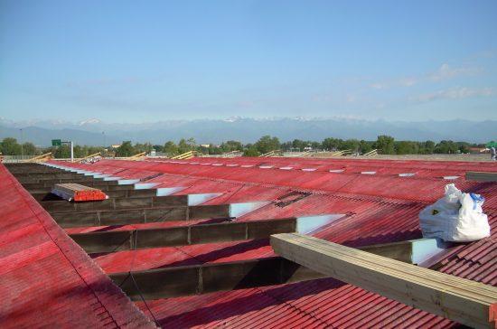 incapsulamento amianto in copertura industriale